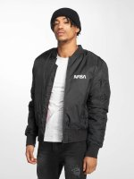Mister Tee Bomber jacket NASA Worm black