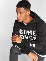 Mister Tee Hoodie Game Over black