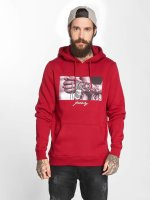Mister Tee Sweat capuche Pray 2.0 rouge