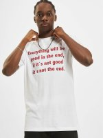 Mister Tee T-shirt Everything Will Be Good bianco