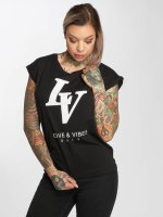 Mister Tee T-Shirt Love Vibes black