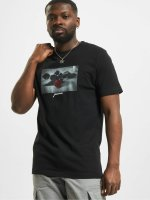 Mister Tee T-Shirt Passion Rose black
