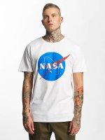 Mister Tee T-Shirt NASA blanc
