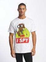 Mister Tee T-Shirt I Spy blanc