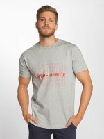 Mister Tee t-shirt Out Of Office grijs