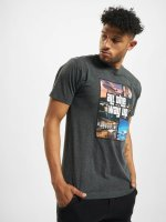 Mister Tee T-Shirt All The Way Up Mashup gris