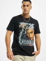 Mister Tee T-shirt Tupac Retro nero