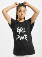 Mister Tee T-Shirt GRL PWR schwarz