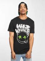 Mister Tee T-Shirt Wiz Khalifa Smoke schwarz