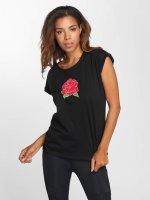 Mister Tee T-Shirt Bright Rose schwarz