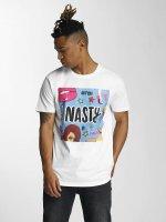 Mister Tee T-Shirt Nasty weiß