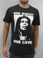 Mister Tee t-shirt Bob One Love zwart