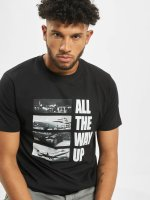 Mister Tee t-shirt All The Way Up Stairway zwart