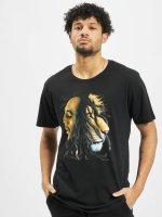 Mister Tee t-shirt Bob Marley Lion zwart