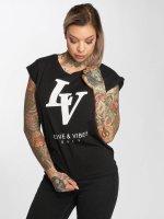 Mister Tee t-shirt Love Vibes zwart