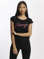 Mister Tee t-shirt Savage zwart