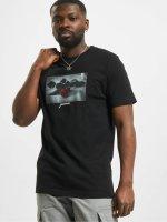 Mister Tee t-shirt Passion Rose zwart