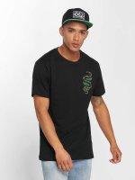 Mister Tee t-shirt Snake zwart