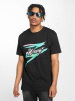 Mister Tee t-shirt Wavy zwart