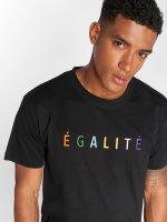 Mister Tee T-shirts Egalite sort