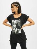 Mister Tee T-Shirty 2Pac Banadana czarny