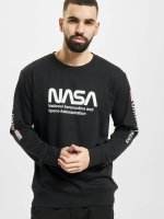 Mister Tee trui NASA US zwart