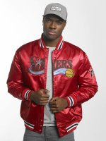 Mitchell & Ness College Jacket HWC Team Philadelphia 76Ers red