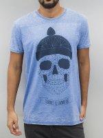 Monkey Business t-shirt Geometric Skull blauw