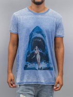 Monkey Business t-shirt Shark Ski76 blauw