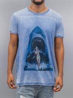 Monkey Business T-Shirt Shark Ski76 blue