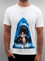 Monkey Business t-shirt Shark Ski wit