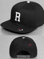 MSTRDS Snapback Caps R Letter czarny