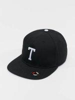 MSTRDS Snapback Caps T Letter czarny