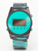 NEFF Montre Daily Digital turquoise