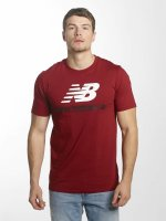 New Balance T-paidat MT73587 Essentials punainen