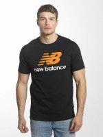 New Balance t-shirt MT73587 Essentials zwart