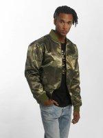 New Era Bomber jacket BNG Chicago Bulls Sateen olive