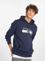 New Era Hoodie Team Logo Seattle Seahawks blå