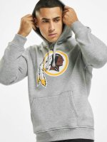 New Era Hoody Team Logo Washington Redskins grau
