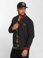 New Era Prechodné vetrovky NBA Chicago Bulls Varsity èierna