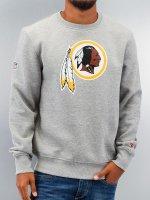 New Era Pulóvre Team Logo Washington Redskins šedá