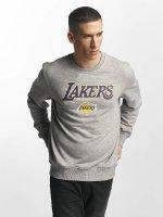 New Era Pulóvre Tip Off LA Lakers šedá
