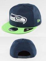 New Era Snapback Cap Seattle Seahawks blau