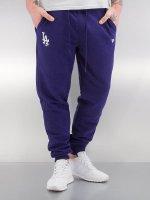 New Era Spodnie do joggingu Team Apparel niebieski