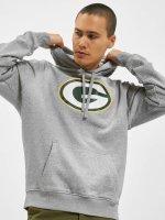 New Era Sweat capuche Team Logo Green Bay Packers gris