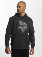 New Era Sweat capuche Minnesota Vikings gris