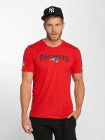 New Era T-Shirt Dryera New England Patriots rot