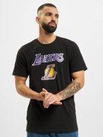 New Era T-Shirt Team Logo LA Lakers schwarz