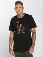 New Era T-Shirt Team Apparel LA Dodgers Infill schwarz