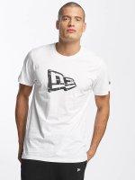 New Era T-Shirt Originators Flag weiß